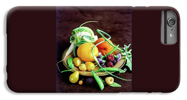 Seasonal Fruit And Vegetables IPhone 6 Plus Case by Romulo Yanes