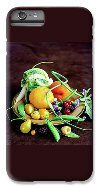 Cauliflower iPhone 6 Plus Case - Seasonal Fruit And Vegetables by Romulo Yanes