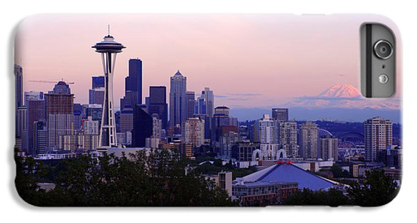Seattle Dawning IPhone 6 Plus Case by Chad Dutson