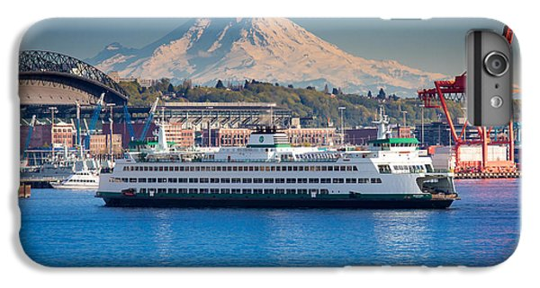Seattle Harbor IPhone 6 Plus Case by Inge Johnsson