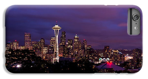 Seattle Night IPhone 6 Plus Case by Chad Dutson