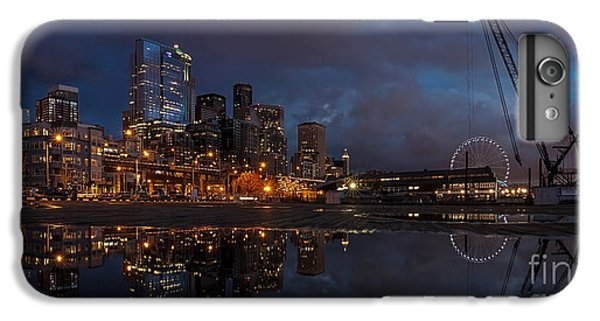 Seattle Night Skyline IPhone 6 Plus Case by Mike Reid