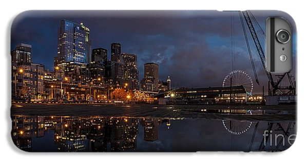 Seattle Night Skyline IPhone 6 Plus Case by Mike Reid