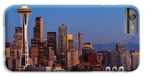 Seattle Winter Evening Panorama IPhone 6 Plus Case