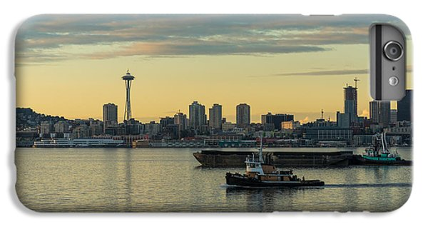 Seattles Working Harbor IPhone 6 Plus Case by Mike Reid