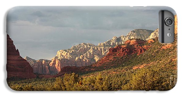 Desert iPhone 6 Plus Case - Sedona Sunshine Panorama by Carol Groenen