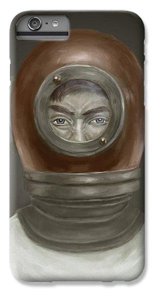 iPhone 6 Plus Case - Self Portrait by Balazs Solti