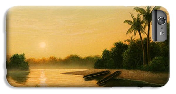 Egret iPhone 6 Plus Case - Seminole Sunset by Jerry LoFaro