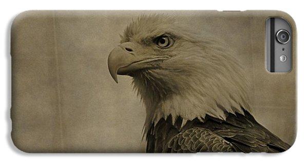 Sepia Bald Eagle Portrait IPhone 6 Plus Case by Dan Sproul