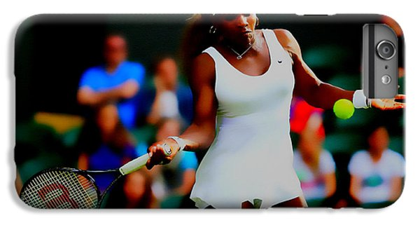 Serena Williams Making It Look Easy IPhone 6 Plus Case by Brian Reaves