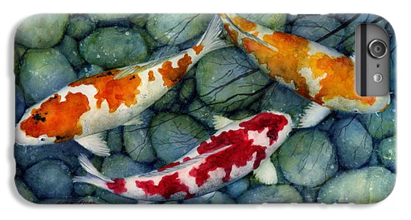 Serenity Koi IPhone 6 Plus Case by Hailey E Herrera