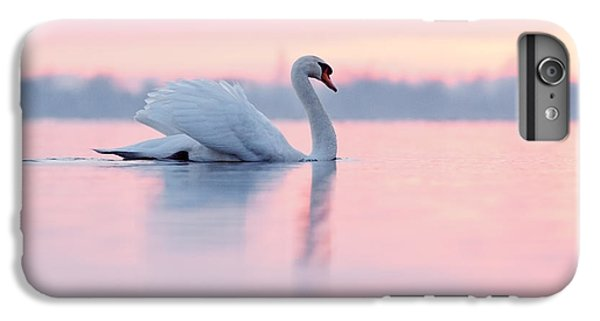 Serenity   Mute Swan At Sunset IPhone 6 Plus Case by Roeselien Raimond