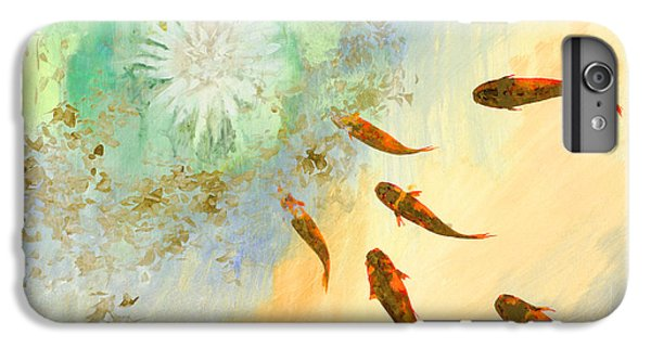 Sette Pesciolini Verdi IPhone 6 Plus Case by Guido Borelli
