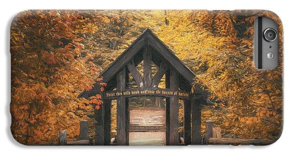 Nature Trail iPhone 6 Plus Case - Seven Bridges Trail Head by Scott Norris