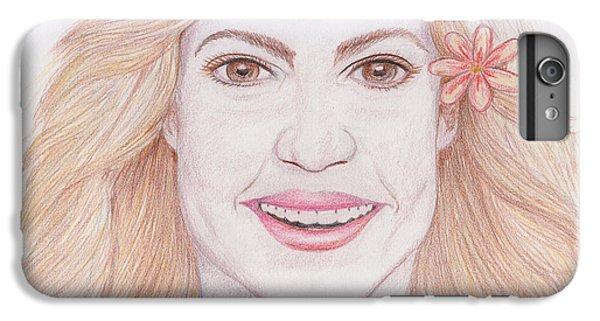 Shakira IPhone 6 Plus Case by M Valeriano