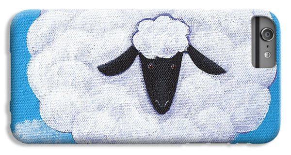 Sheep Nursery Art IPhone 6 Plus Case by Christy Beckwith