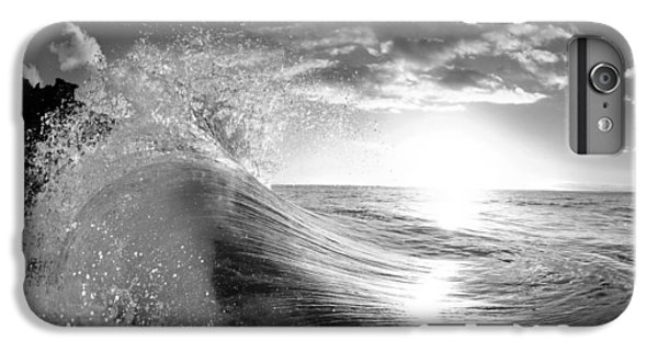 Water Ocean iPhone 6 Plus Case - Shiny Comforter by Sean Davey