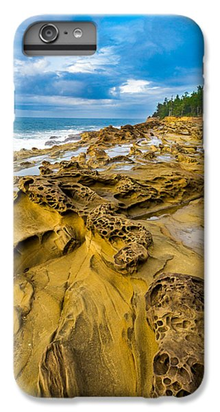 Shore Acres Sandstone IPhone 6 Plus Case by Robert Bynum