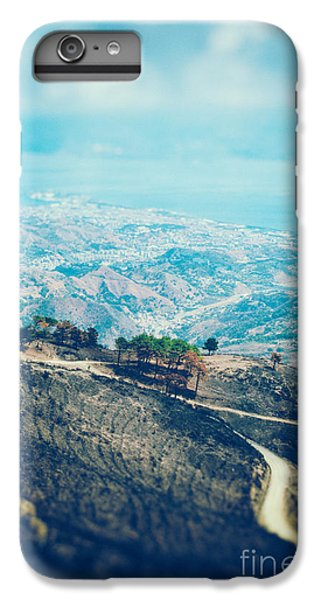 IPhone 6 Plus Case featuring the photograph Sicilian Land After Fire by Silvia Ganora