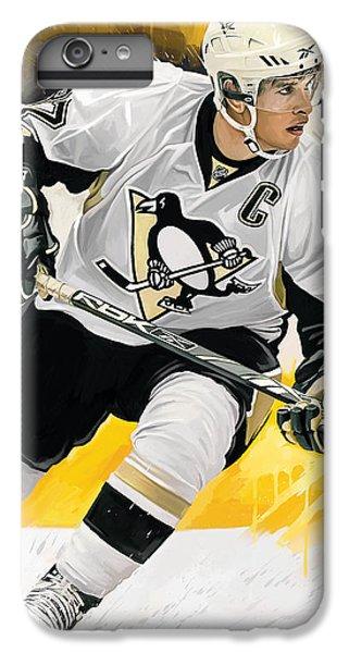 Penguin iPhone 6 Plus Case - Sidney Crosby Artwork by Sheraz A