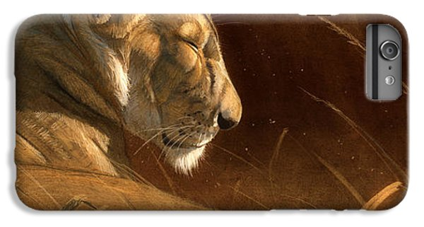 Lion iPhone 6 Plus Case - Siesta by Aaron Blaise