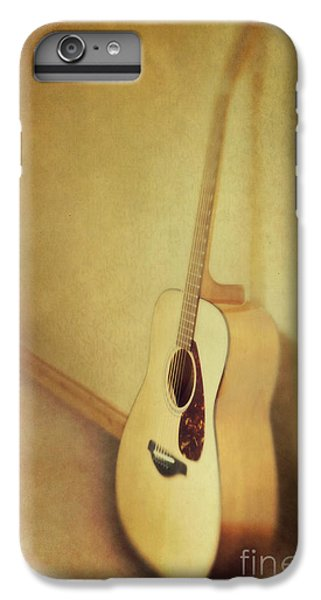 Silent Guitar IPhone 6 Plus Case by Priska Wettstein