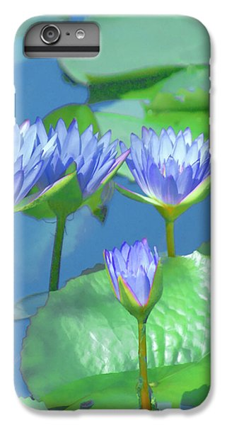 iPhone 6 Plus Case - Silken Lilies by Holly Kempe