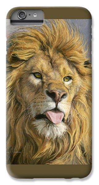 Silly Face IPhone 6 Plus Case by Lucie Bilodeau