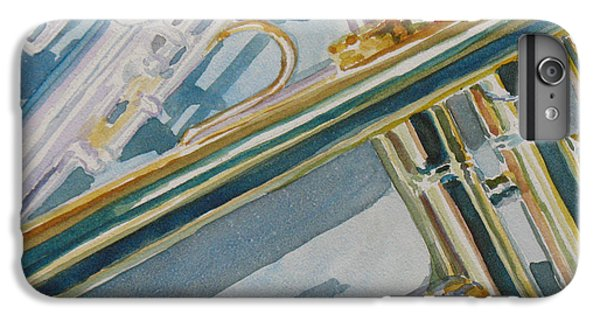 Silver And Brass Keys IPhone 6 Plus Case by Jenny Armitage