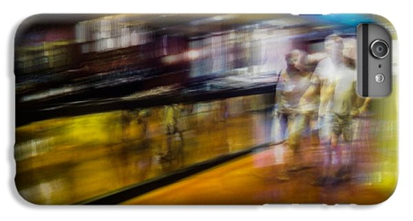 IPhone 6 Plus Case featuring the photograph Silver People In A Golden World by Alex Lapidus