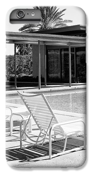 Sinatra Pool Bw Palm Springs IPhone 6 Plus Case