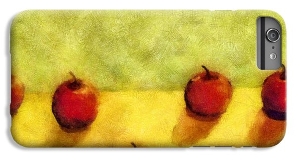 Six Apples IPhone 6 Plus Case by Michelle Calkins