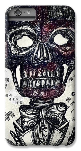 Skull And Equality IPhone 6 Plus Case by Akiko Okabe