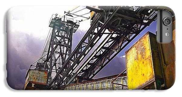 Detail iPhone 6 Plus Case - #sky #architecture #industrie #summer by Phil Grubers