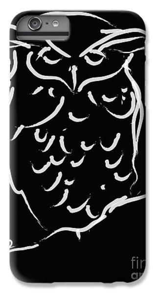 Sleepy Owl IPhone 6 Plus Case
