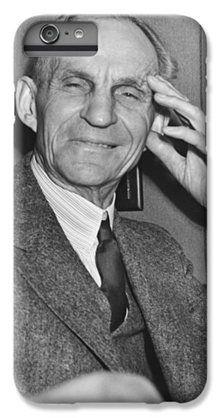 Smiling Henry Ford IPhone 6 Plus Case by Underwood Archives