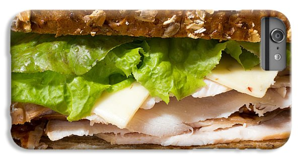 Smoked Turkey Sandwich IPhone 6 Plus Case by Edward Fielding