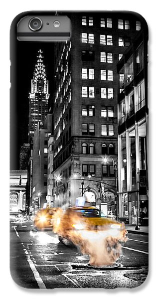 London Tube iPhone 6 Plus Case - Smoking Streets Of New York  by Az Jackson
