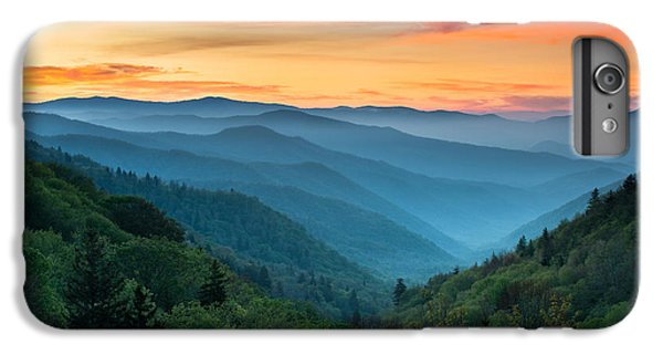 Landscape iPhone 6 Plus Case - Smoky Mountains Sunrise - Great Smoky Mountains National Park by Dave Allen
