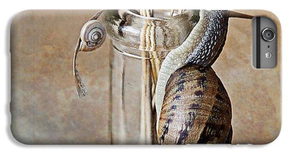Snails IPhone 6 Plus Case by Nailia Schwarz