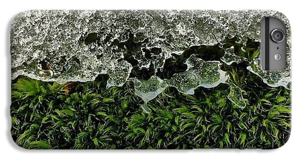 Detail iPhone 6 Plus Case - Snow & Moss, 2015.02.07 #bmr #lehman by Aaron Campbell