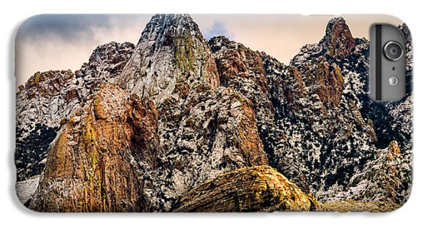 IPhone 6 Plus Case featuring the photograph Snow On Peaks 45 by Mark Myhaver