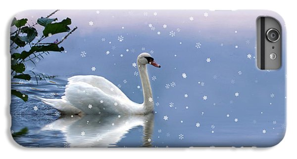 Snow Swan  IPhone 6 Plus Case