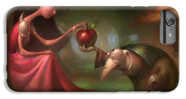 Snow White IPhone 6 Plus Case by Adam Ford