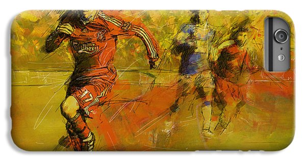 Soccer  IPhone 6 Plus Case by Corporate Art Task Force