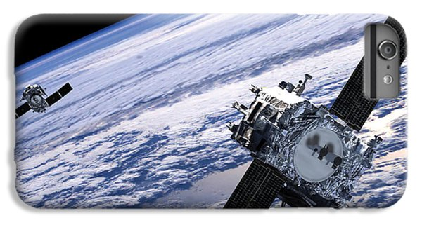 Solar Terrestrial Relations Observatory Satellites IPhone 6 Plus Case by Anonymous