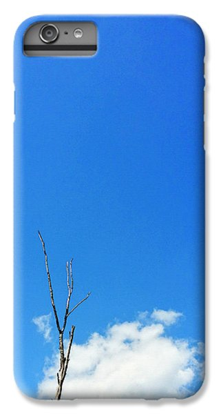 Barren iPhone 6 Plus Case - Solitude - Blue Sky Art By Sharon Cummings by Sharon Cummings