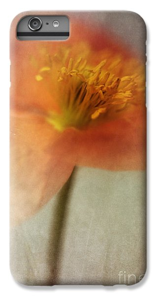 Flowers iPhone 6 Plus Case - Soulful Poppy by Priska Wettstein