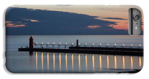 South Haven Michigan Lighthouse IPhone 6 Plus Case by Adam Romanowicz