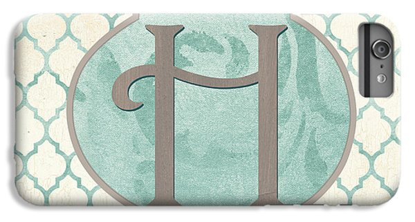 Spa Monogram IPhone 6 Plus Case by Debbie DeWitt